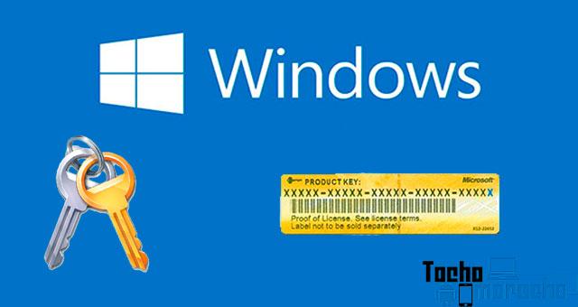 Cómo saber la clave de Producto de Windows 7, 8 y 10