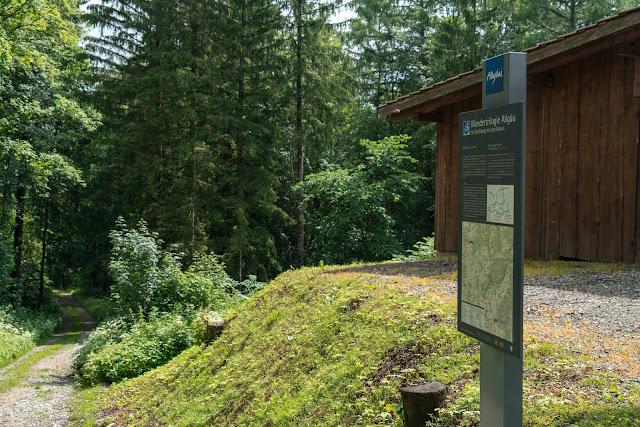 Wandertrilogie Allgäu  Etappe 11  Leutkirch-Bad Wurzach - Wiesengänger Route 03