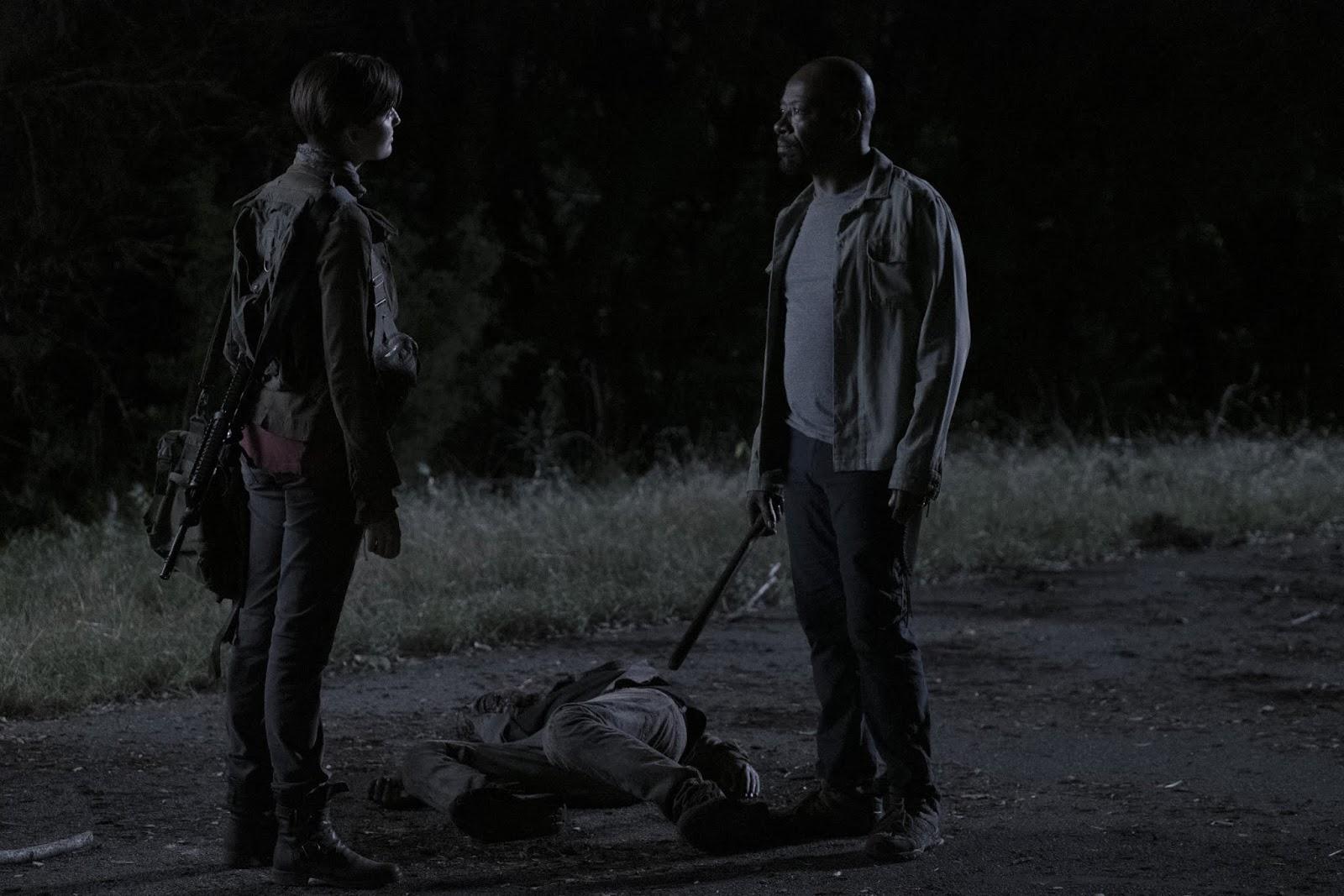 Althea y Morgan, en el episodio 5x14 de Fear The Walking Dead