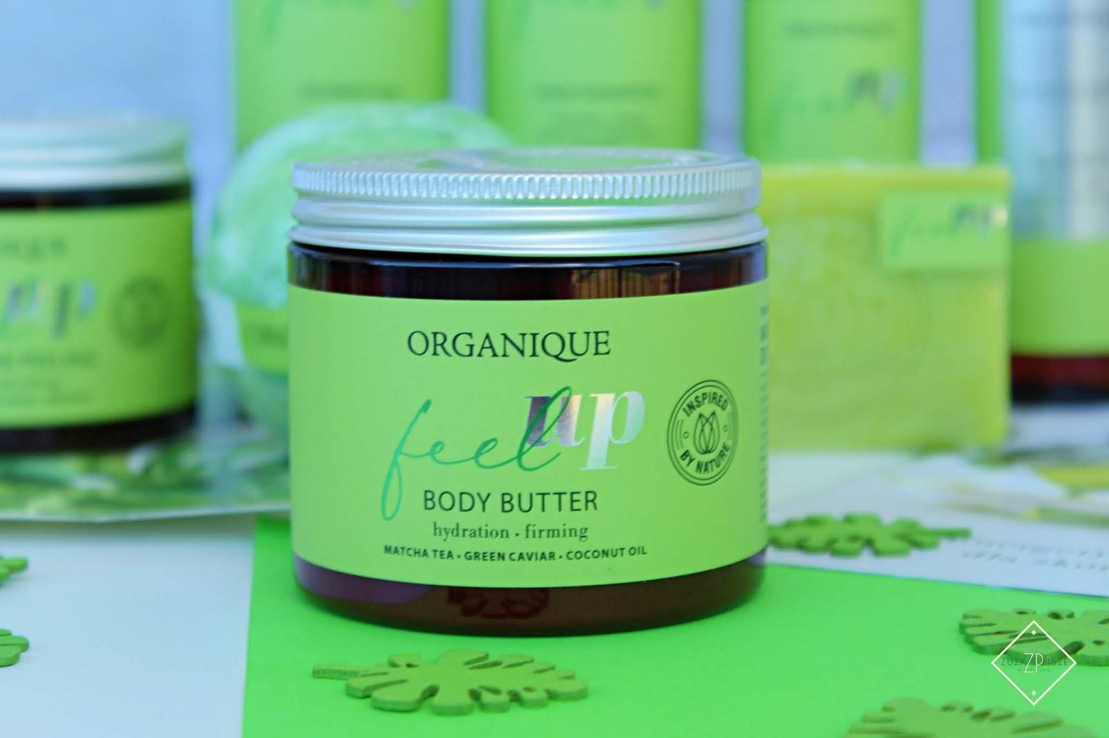 Ujędrniające masło do ciała Organique Feel Up