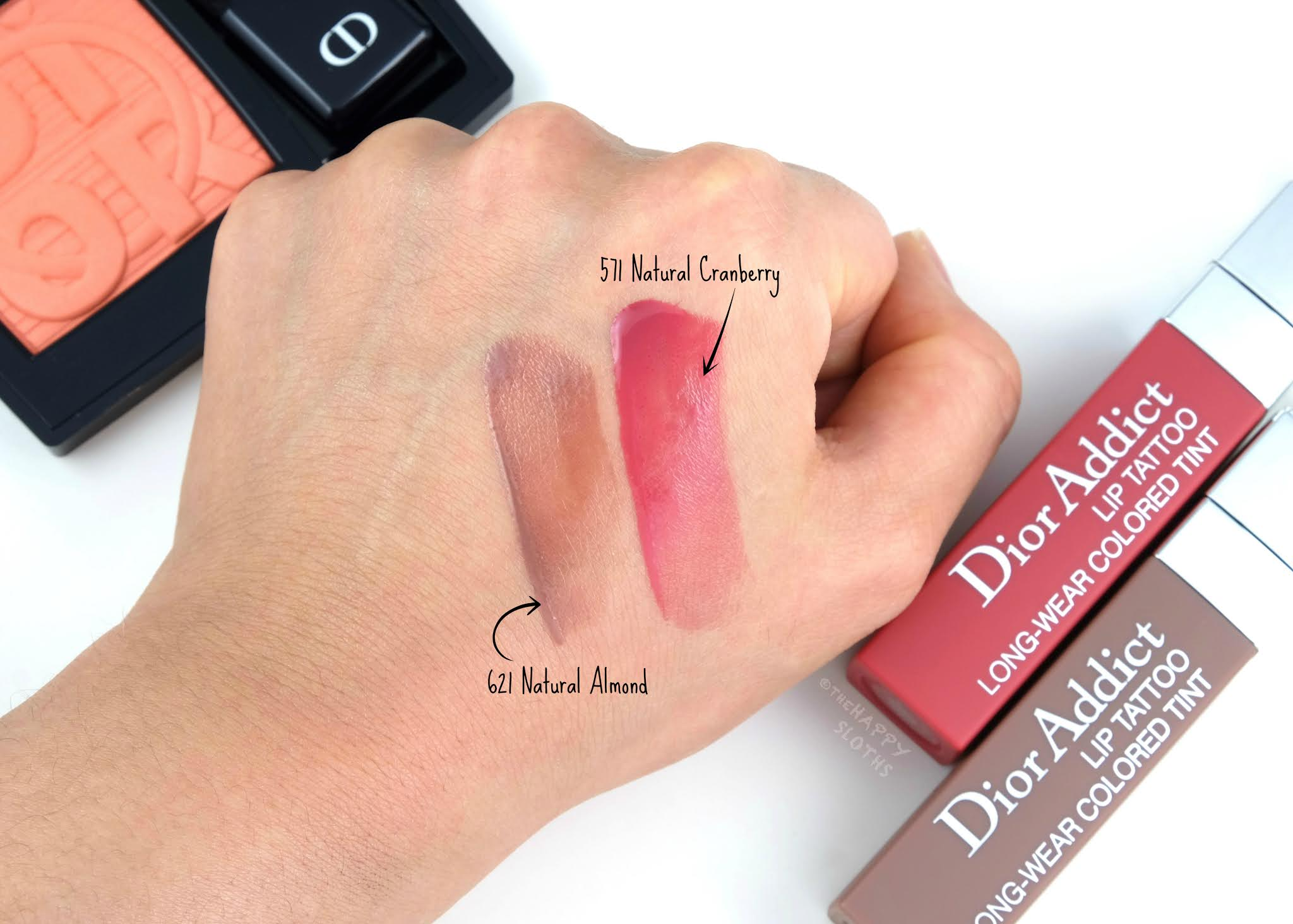 Dior Summer 2020 | Dior Addict Lip Tattoo: Review and Swatches