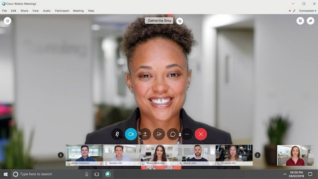 Aplikasi Video Conference - Cisco Webex Meetings