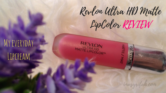 Revlon Ultra HD Matte Lip Color : My Everyday LipCream