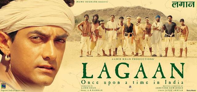Lagaan bollywood movie based on cricket