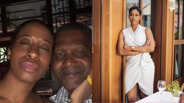 Dangote's Supposed Ex-Girlfriend Accuses Him Of Breaking Her Heart