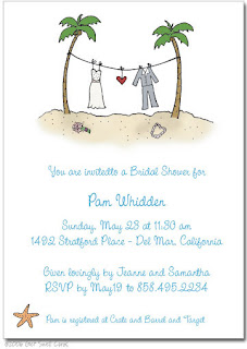 Amazing Casual Beach Wedding Invitation Wording