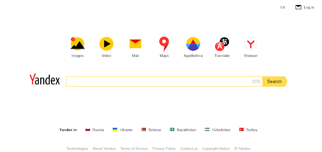 Mesin Pencari Yandex