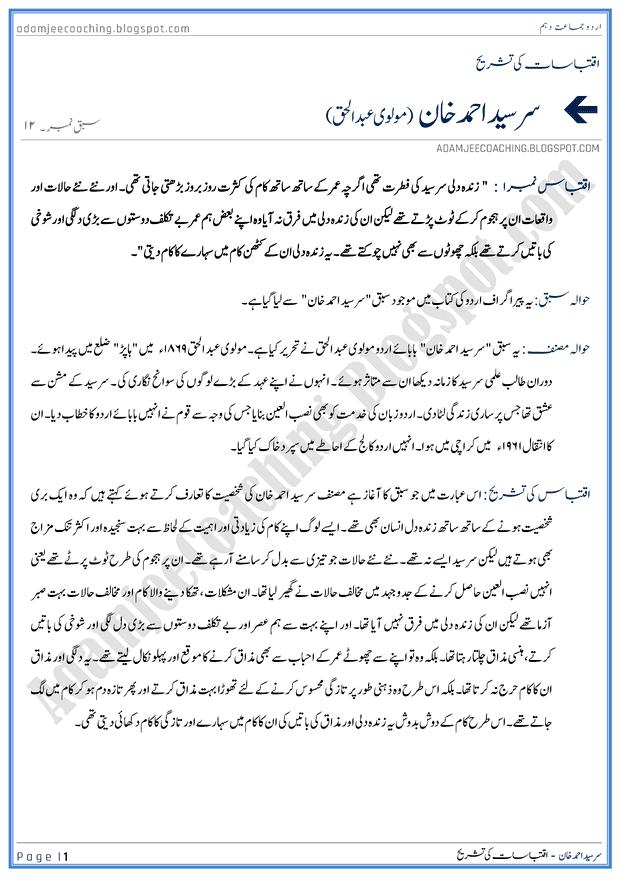 Urdu Essays Book