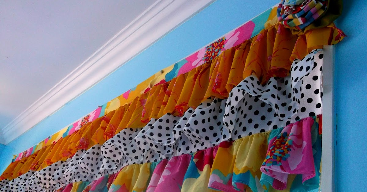 Creative Tease Tiered Ruffled Valance