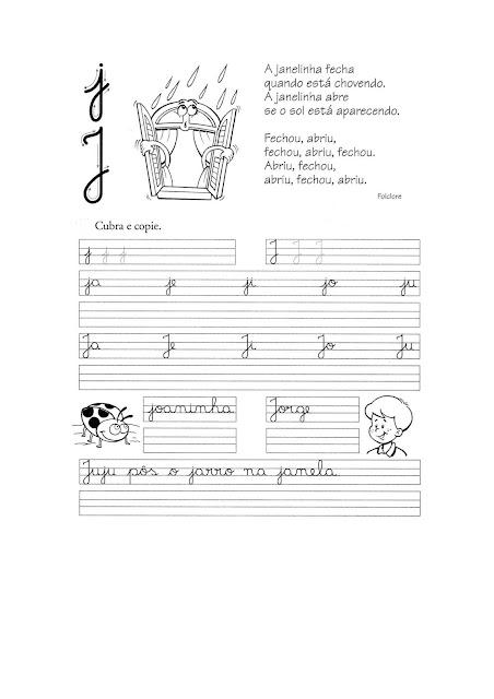 Caligrafia para Imprimir Letra Cursiva