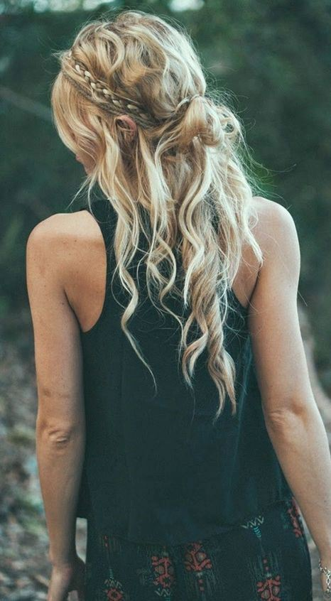 cute boho hairstyles