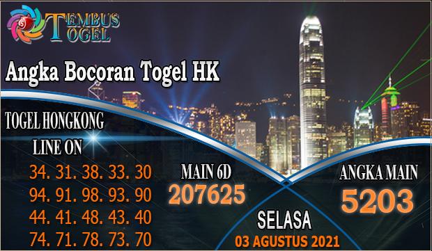 Angka Bocoran Togel HK - Selasa 02 Agustus 2021 Tembus Togel