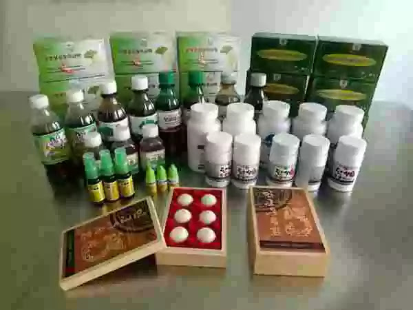 Products of Myongbang Pharmaceutical Factory