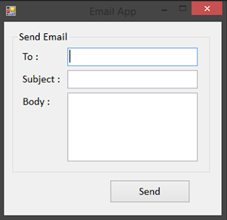 How to Send Email Using VB.Net