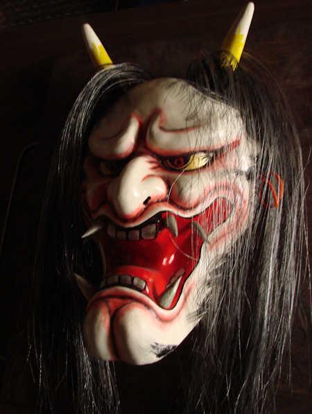 Hanya Mask Iwami kagura