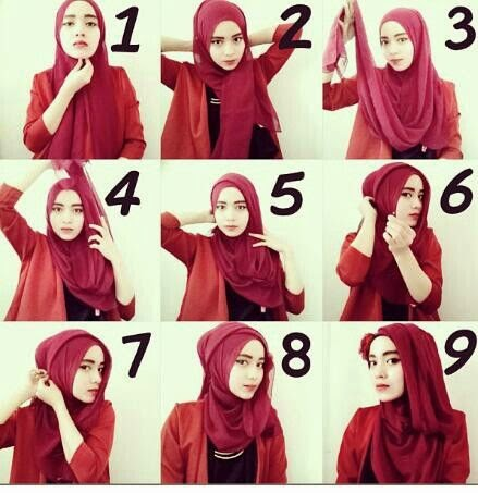 Tutorial Hijab For Graduation Or Party - Hijaberduit