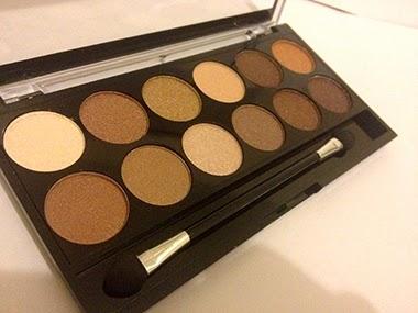 MUA Cosmetics Heaven and Earth eye shadow palette