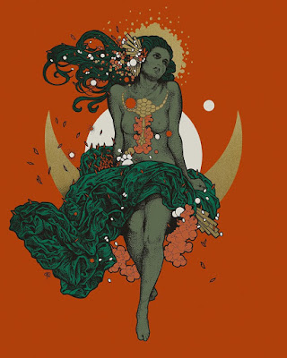 MondoCon 2016 Exclusive Aurora Screen Print by Richey Beckett