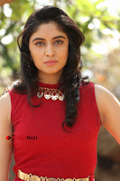 Telugu Actress Zahida Sam Latest Pos in Red Gown at RF Films New Movie Opening  0122.JPG
