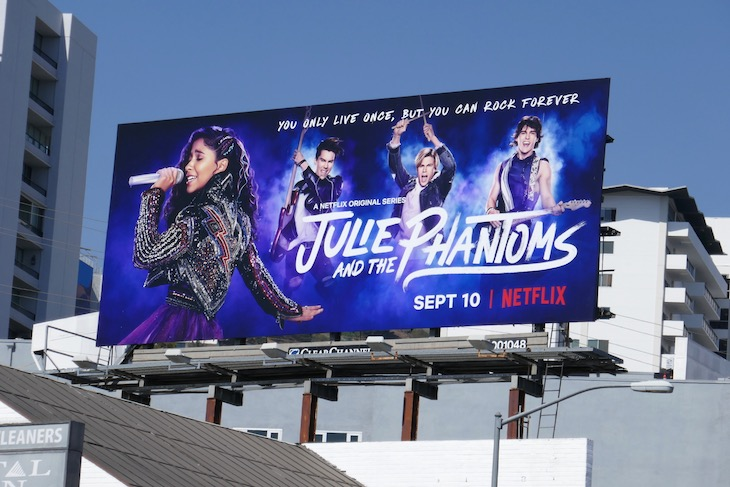 Julie and the Phantoms season 1 billboard