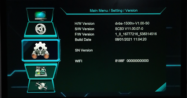 NEOSAT NS-1506TV BUILT IN WIFI NEW SOFTWARE WITH FREE WEB TV & YOUTUBE OK