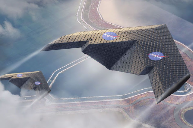 NASA tests new type of airplane wing