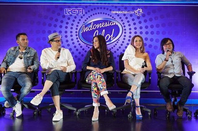 lima juri Indonesian Idol 2018