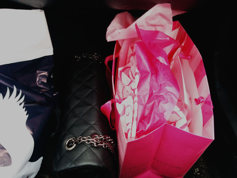 Victoria's Secret shopping bag