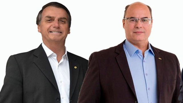 Jair Bolsonaro e Wilson Witzel vencem em todos os municípios da Região Serrana