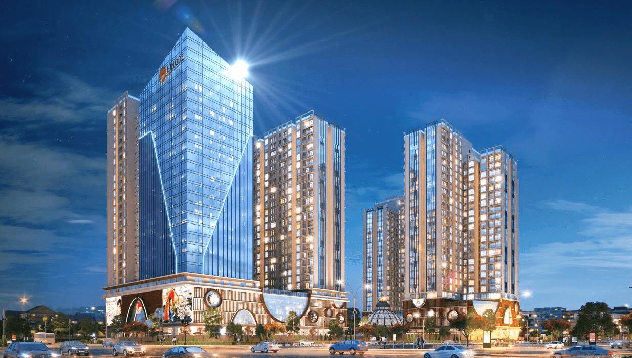 Toàn cảnh Chung cư Hinode City