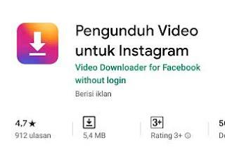 aplikasi menyimpan video dari instagram ke galeri hp