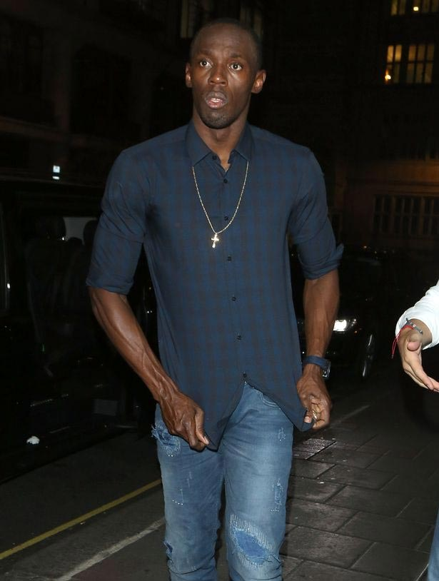 What girlfriend? Usain Bolt parties hard in London nightclub, goes home with 3 girls