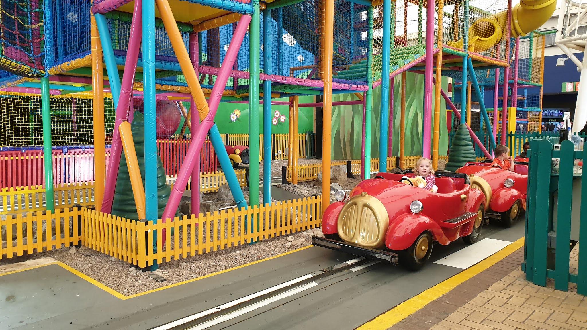 butlins indoor fairground