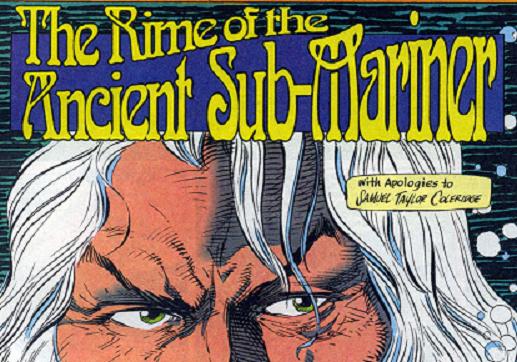 """Namor, « prince des mers » de Marvel, ou """"the Sub-Mariner"""", est inspiré par le poème de Coleridge """"The Rime of the Ancient Mariner"""""""