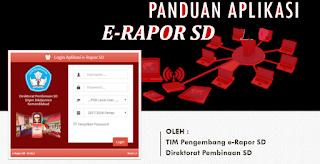 File Pendidikan Panduan Mengerjakan e-Rapor SD Versi Terbaru