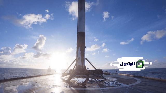 أول هبوط لسفينة بدون طيار SpaceX