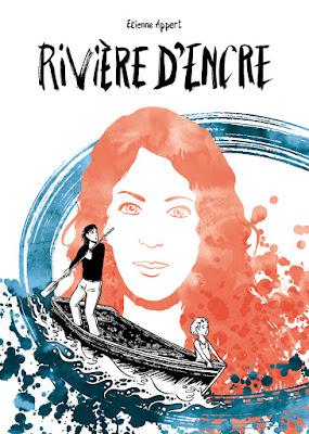 """couverture de """"Rivière d'encre"""" de Etienne Appert chez la Boîte à bulles"""