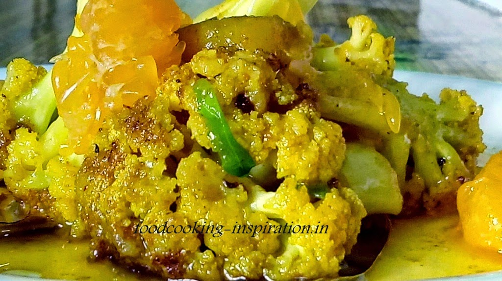 Kamala Kopi  Orange Cauliflower