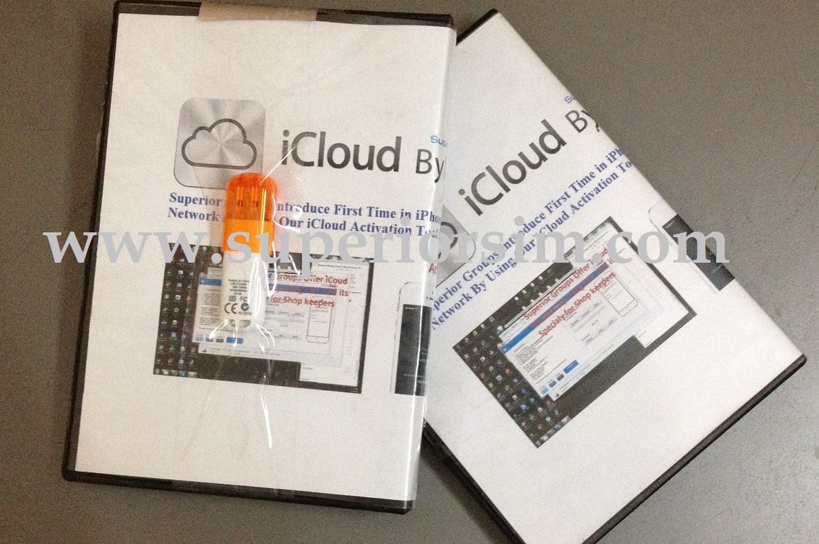 iCloud Activation iTool+iDongle+iNetwork with GSX Server Sub Account