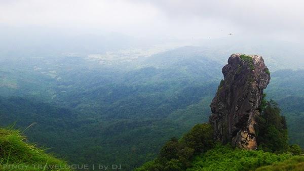 Pico de Loro's famous monolith
