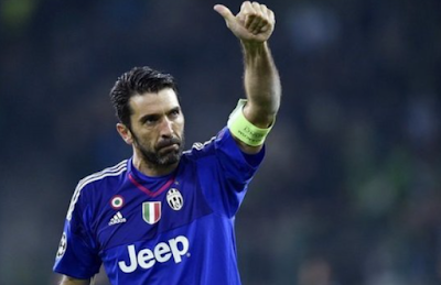 Buffon signs his new club contract