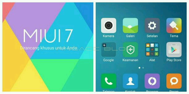 MIUI 7 Lollipop for A6000
