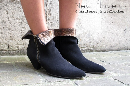 SOLDES boots noir New Lovers