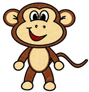 قصة القرد المنحوس
