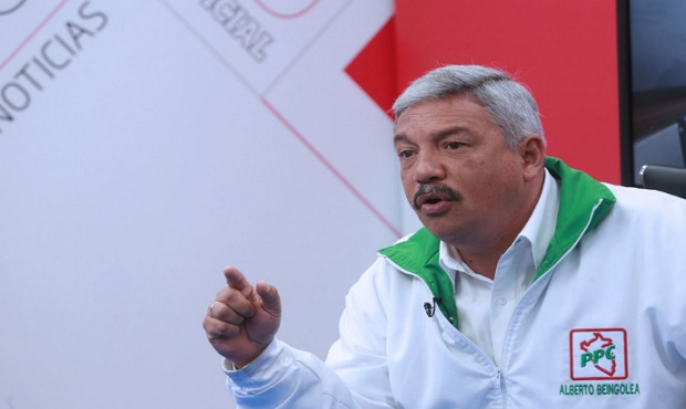 Elecciones 2021: Alberto Beingolea presenta candidatura presidencial en el PPC