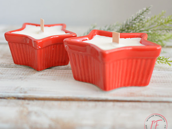 Homemade Ramekin Dish Soy Candles