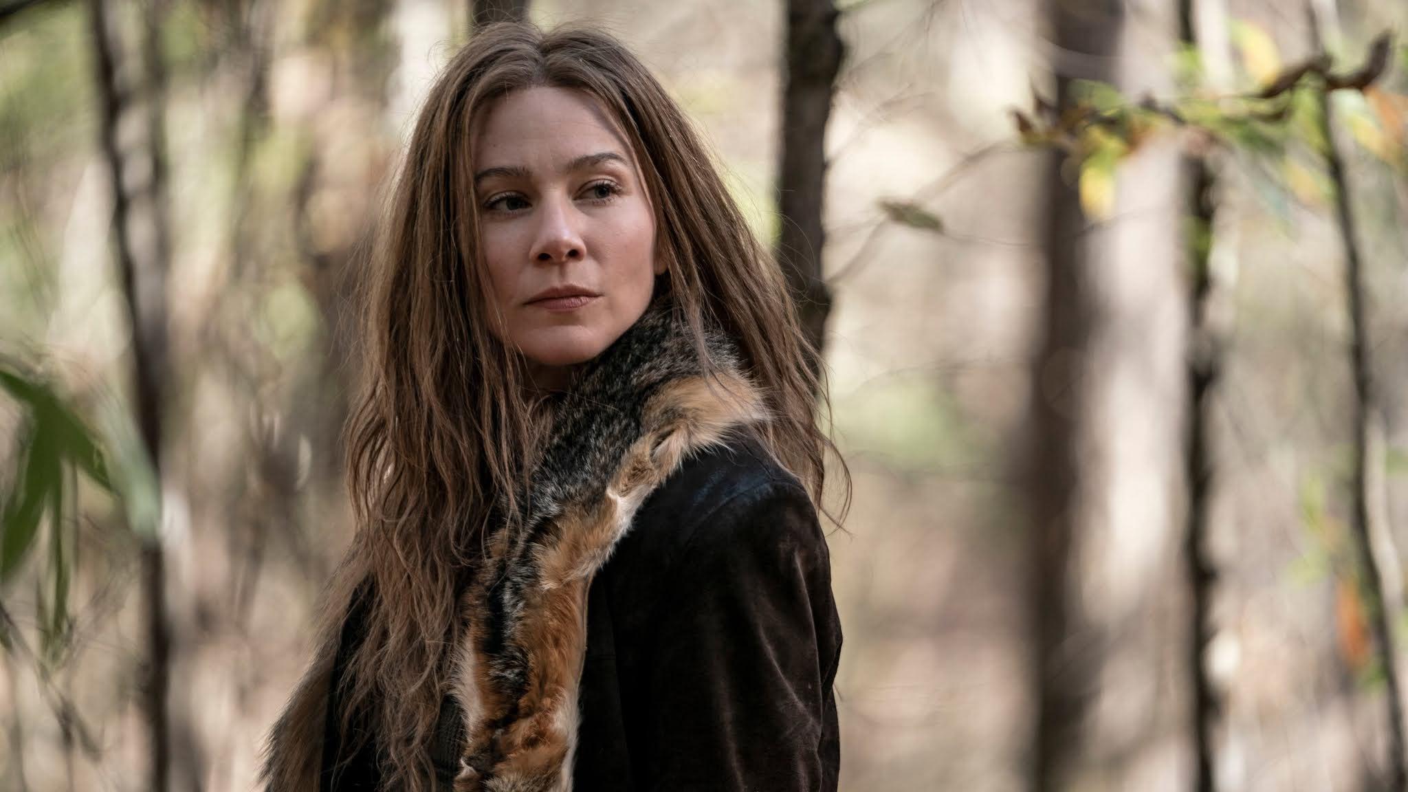 Leah conoce a Daryl en The Walking Dead