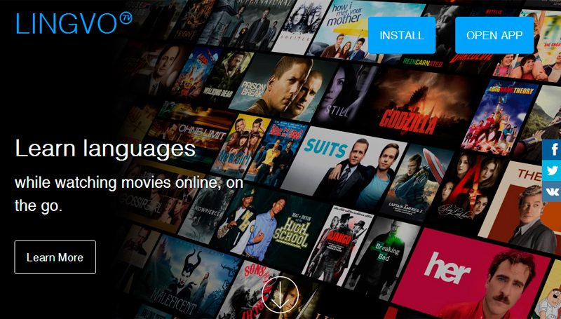 Lingvo TV aprenda idiomas online
