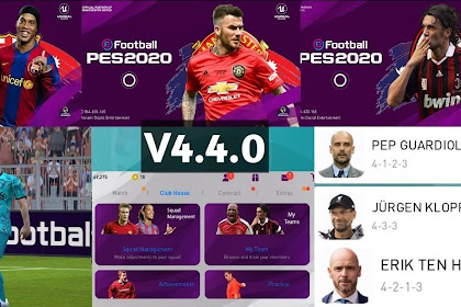 STS Legend Edition V4.4.0 Patch Of PES 2020 Mobile By Stranger Shafiul (OBB+CPK)