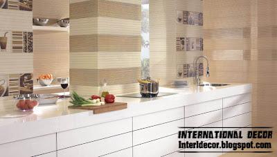 Interior Decor Idea: Contemporary kitchens wall ceramic tiles ... - Kitchen Wall Design Tiles